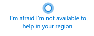 Cortana-Region