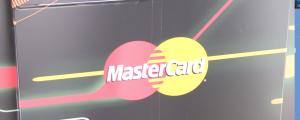 MasterCard logo on truck