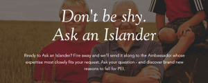 ask an islander