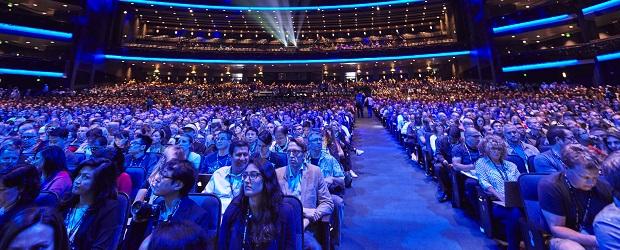 Nearly 7,000 creative professionals at Adobe MAX. Photo Credit: Elizabeth Lippman