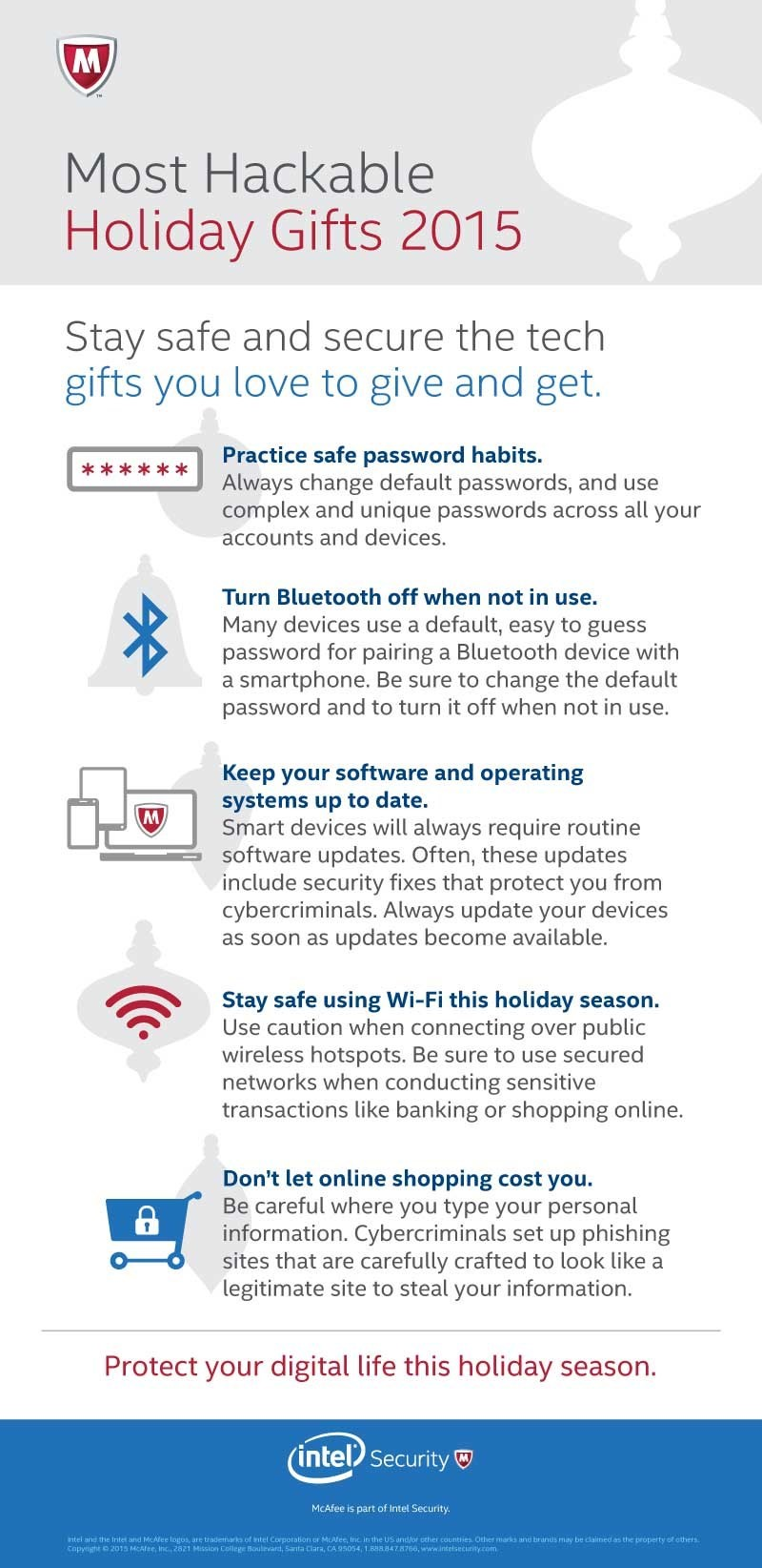 INTEL SECURITY- Hackable Holiday Gifts 2015