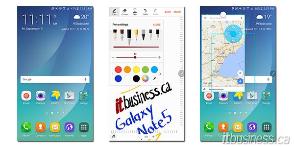 Note 5 Screenshots