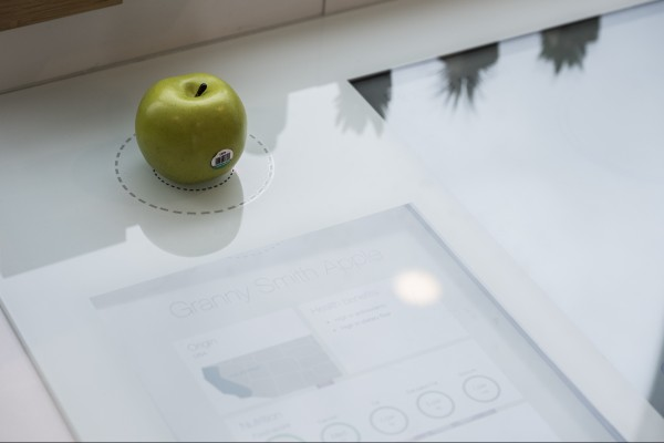 TELUS Future Home - Nutrition Scanning Countertop