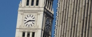 Old Chicago Public Clock