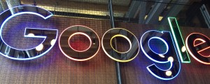 Google office sign