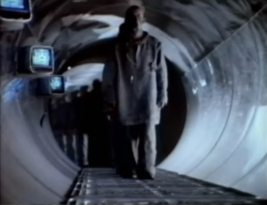 """Apple's """"1984"""" Superbowl ad, which introduced the original Macintosh computer to the world."""