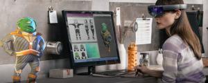 Microsoft HoloLens header 2