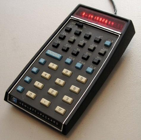 HP slideshow 4 - Pocket scientific calculator