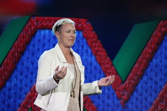 Abby Wambach - Adobe Summit