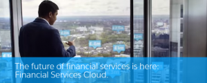 Salesforce Financial Services Cloud header
