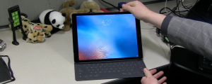 iPad Pro with keyboard