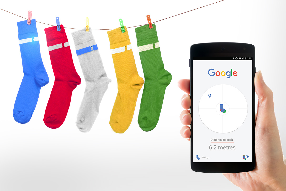 April Fool's Day Slideshow - Google Sock Search