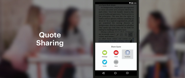 Facebook Keynote Slideshow 5 - Quote sharing