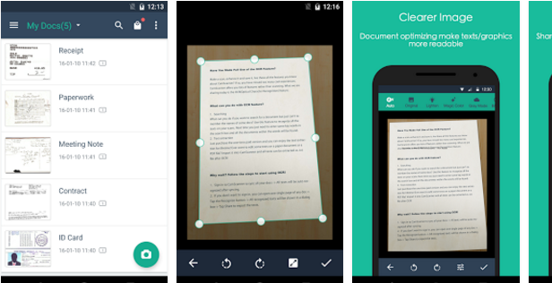 Top business apps slideshow 5 - CamScanner