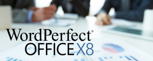WordPerfect Office X8 header