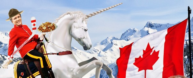 500 Startups announced its investment in Canada with this image.