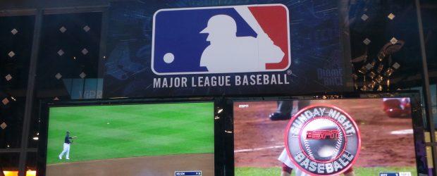 MLB large screen