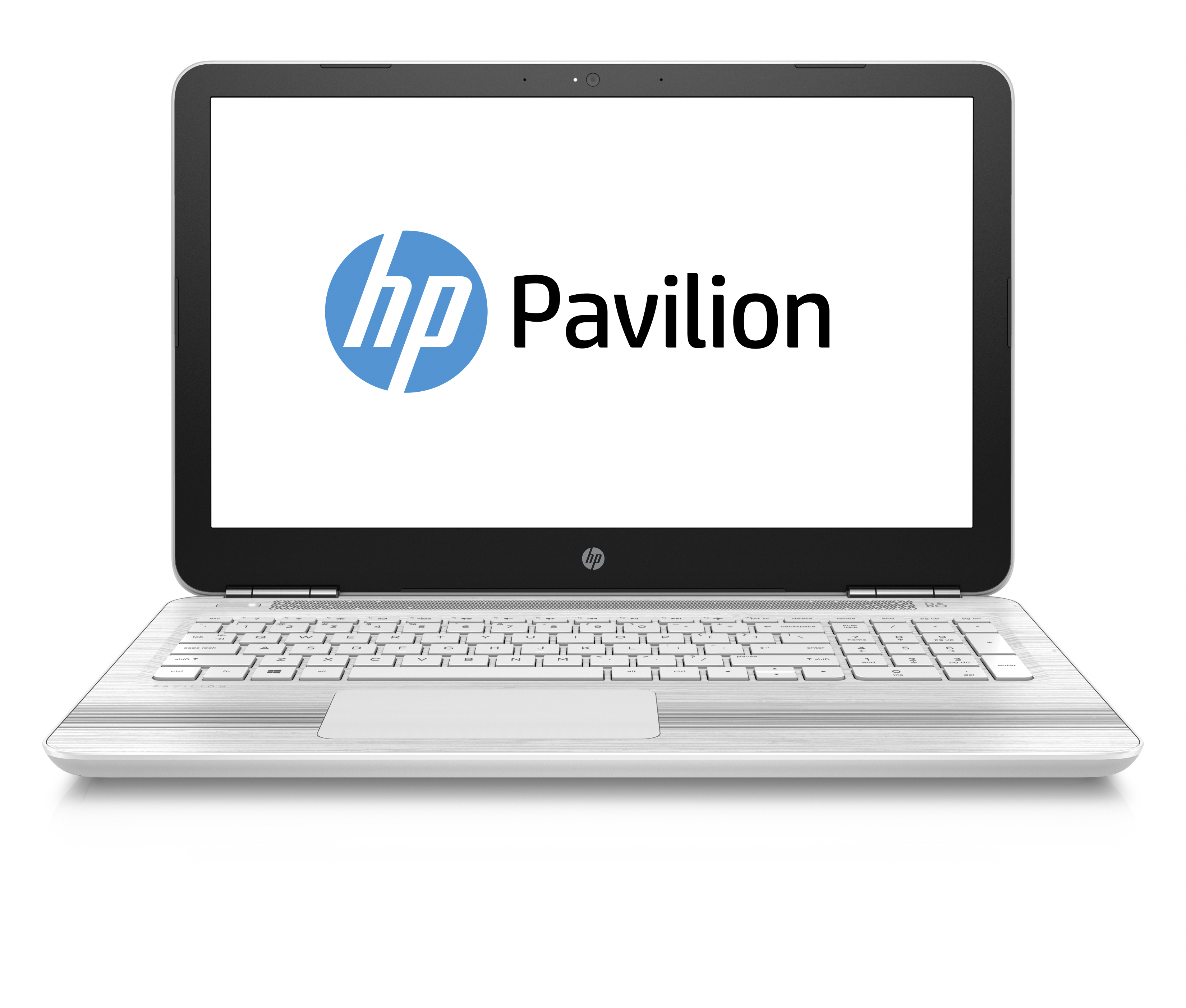 HP back to school slideshow 5 - HP Pavilion 15.6_ Snow White_Front Facing