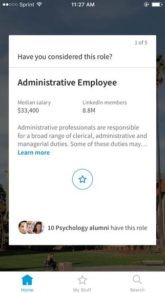 LinkedIn Student App 2