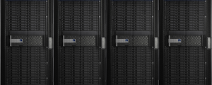 The NetApp FAS storage system