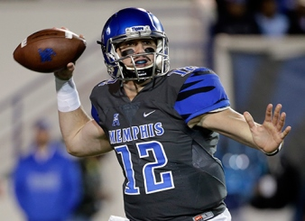 Paxton Lynch at Memphis