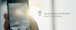 Audi interactive ad