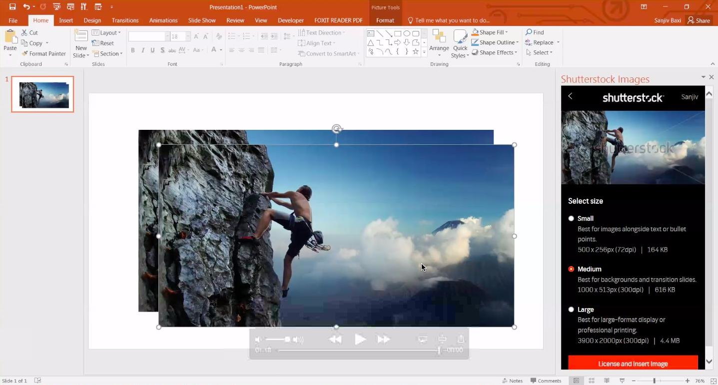 Shutterstock add-in 5
