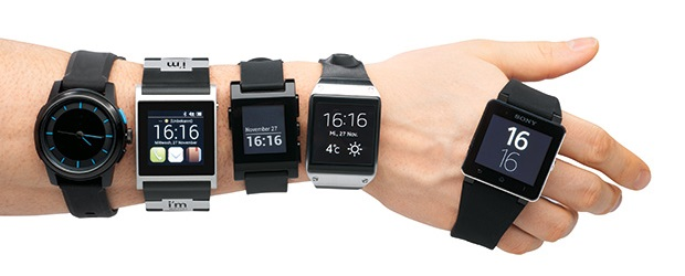 Smartwatch slideshow header