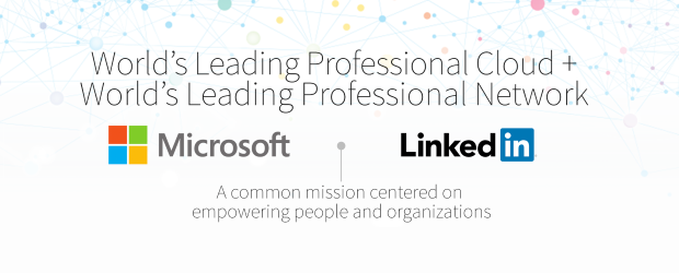 Microsoft LinkedIn acquisition header v. 2