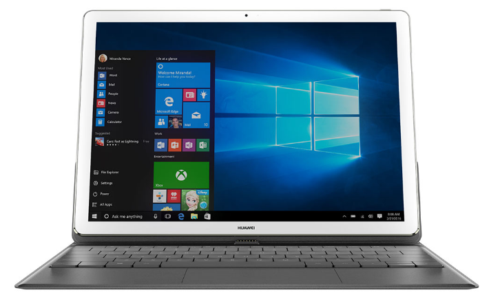 Huawei MateBook - front