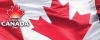 Canada Day - logo and flag