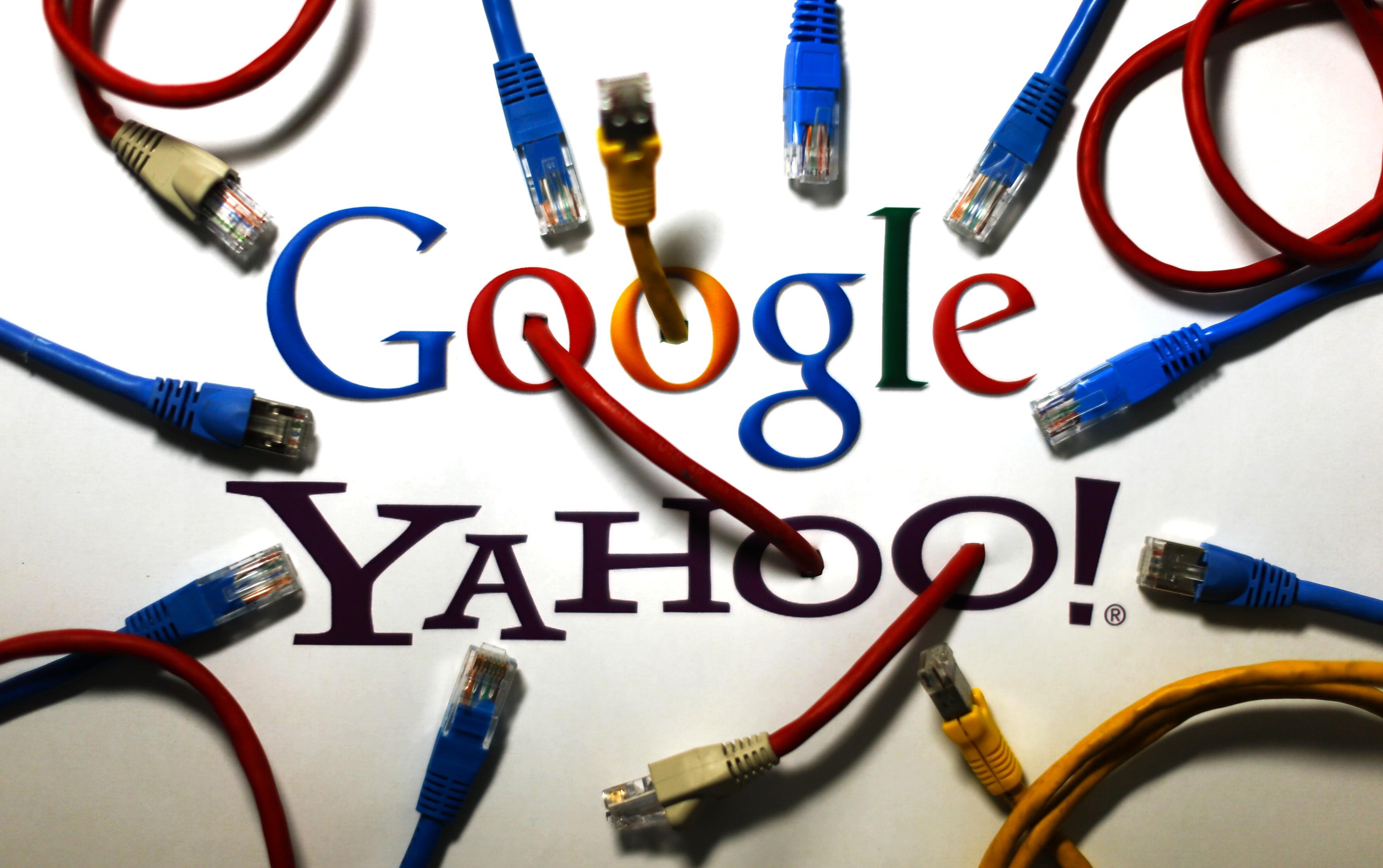 Yahoo slideshow 4 - Google and Yahoo