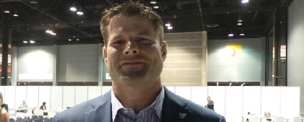 Former UFC fighter Brian Stann at the Sage Summit in Chicago
