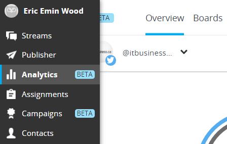 Hootsuite Analytics screen capture 8