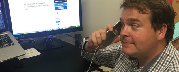 Even ITBusiness.ca editor Brian Jackson is receiving a replacement for his Galaxy Note 7 review unit, despite his brave willingness to continue holding the phone to his ear.