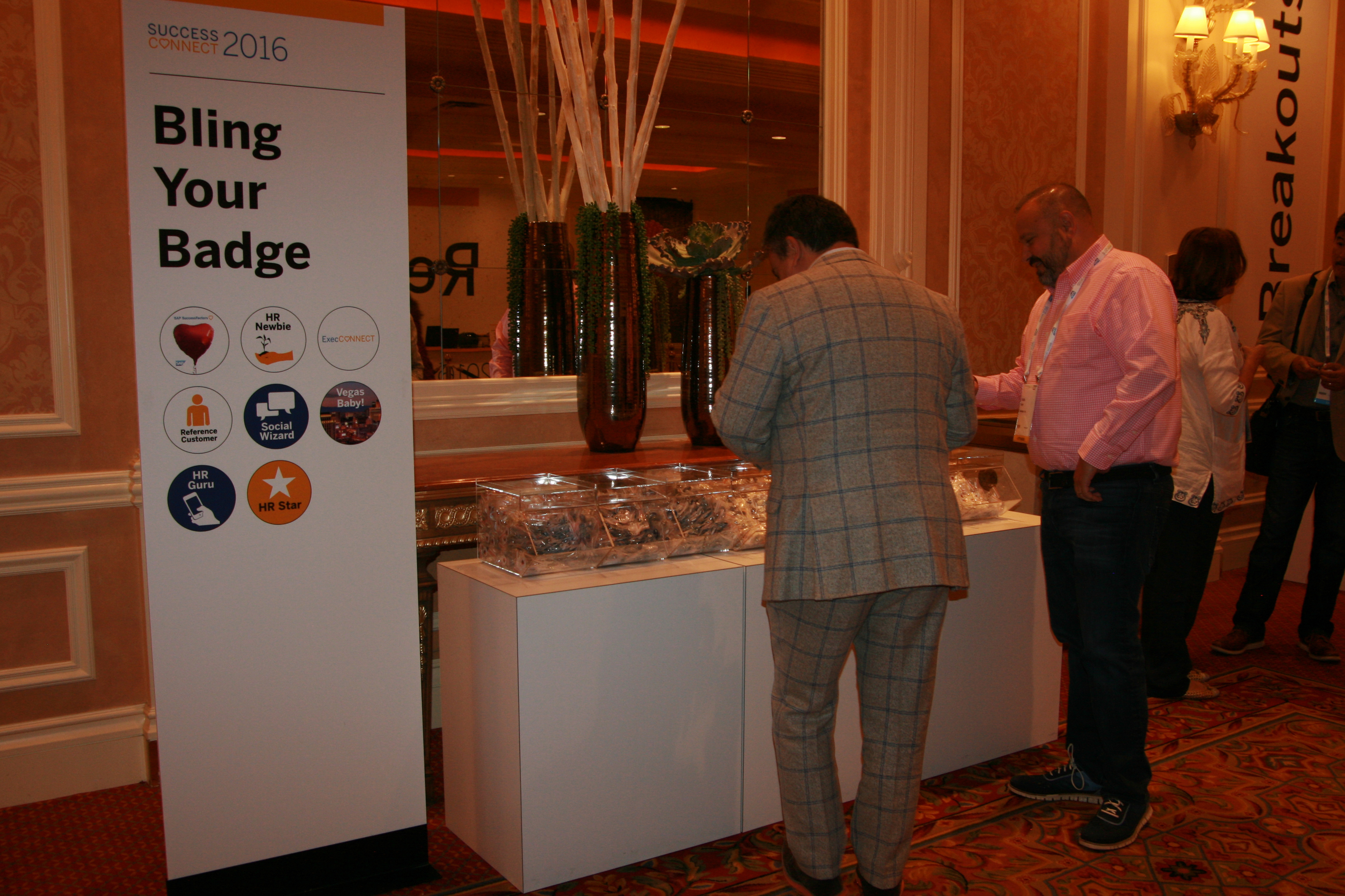 SAP Slideshow 2 - Bling your badge