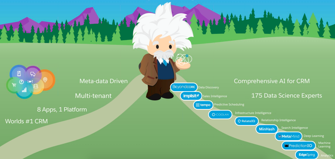 Salesforce Einstein deploys AI across the cloud suite | IT Business