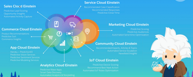 Salesforce Einstein - product map