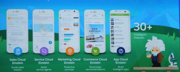 Salesforce Einstein - clouds