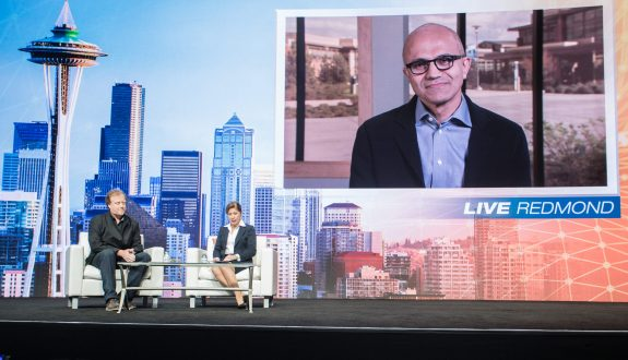 Satya Nadella - video - Gartner Symposium